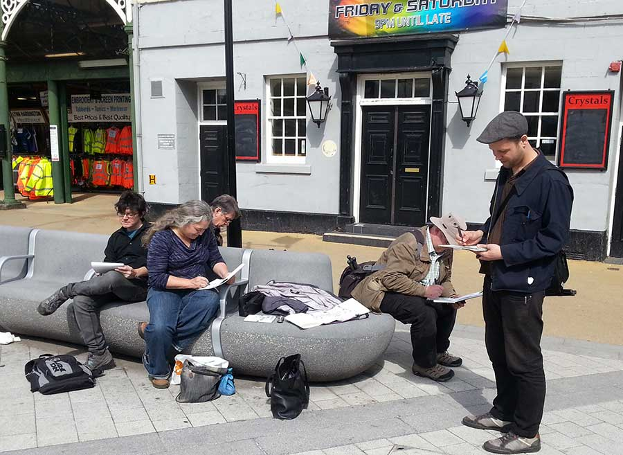 SketchCrawl: Doncaster Town Centre