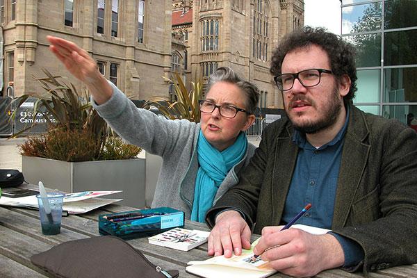 Urban Sketching Workshop with Lynne Chapman