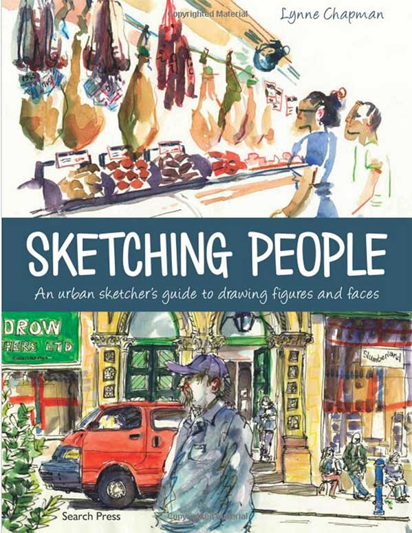 Sketching People - Lynne Chapman