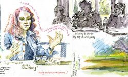 Society of Children's Book Writers & Illlustrators retreat 2016